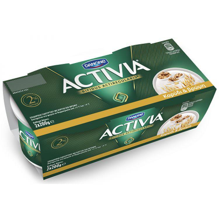ACTIVIA OAT-WALNUT (2X200g)
