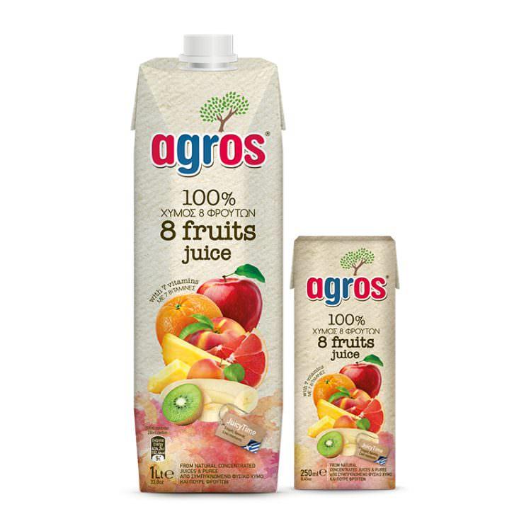 AGROS 8 FRUITS 1L