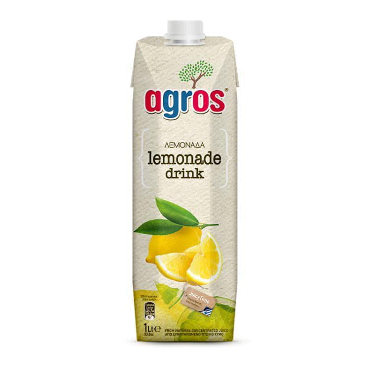 AGROS LEMONADE DRINK 1L