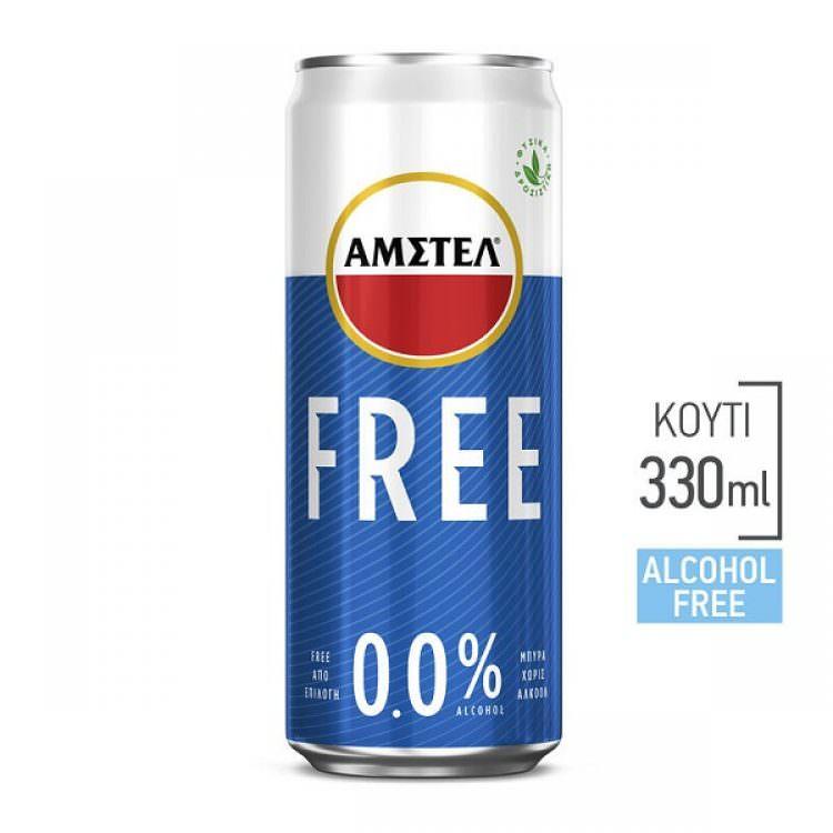 AMSTEL FREE 0% ALCOHOL 330