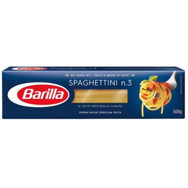 BARILLA SPAGHETTINI No3 500g
