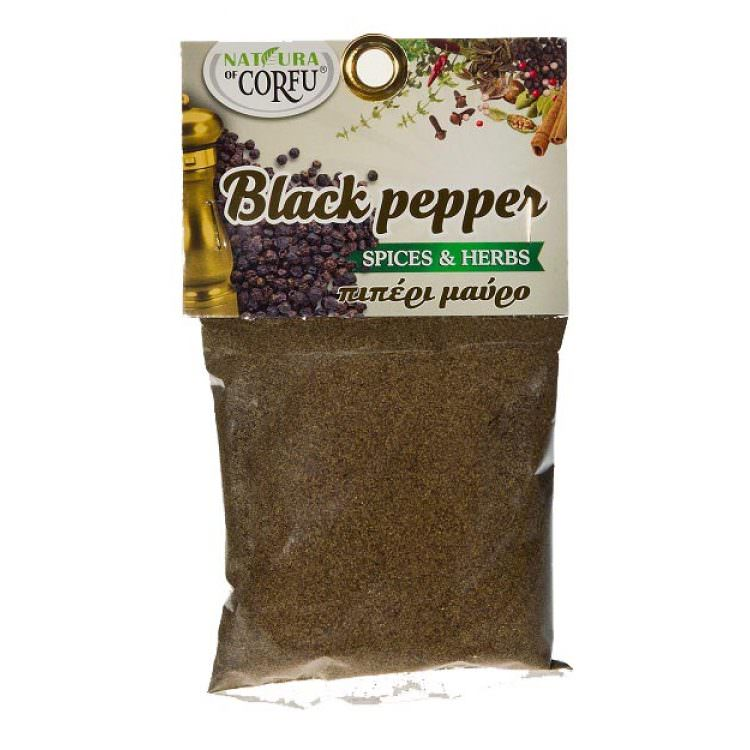 COOKING GREEK RECIPES GRATED BLACK PEPPER 70g