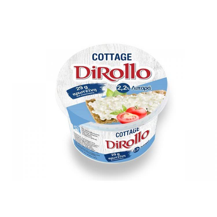 DIROLLO COTTAGE CHEESE 225g