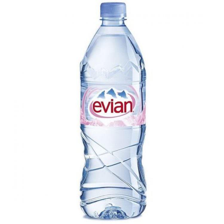 EVIAN WATER 1L