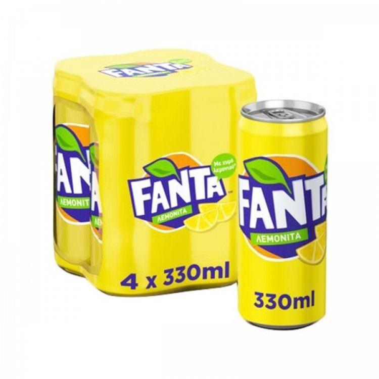 FANTA LEMON 4X330ml