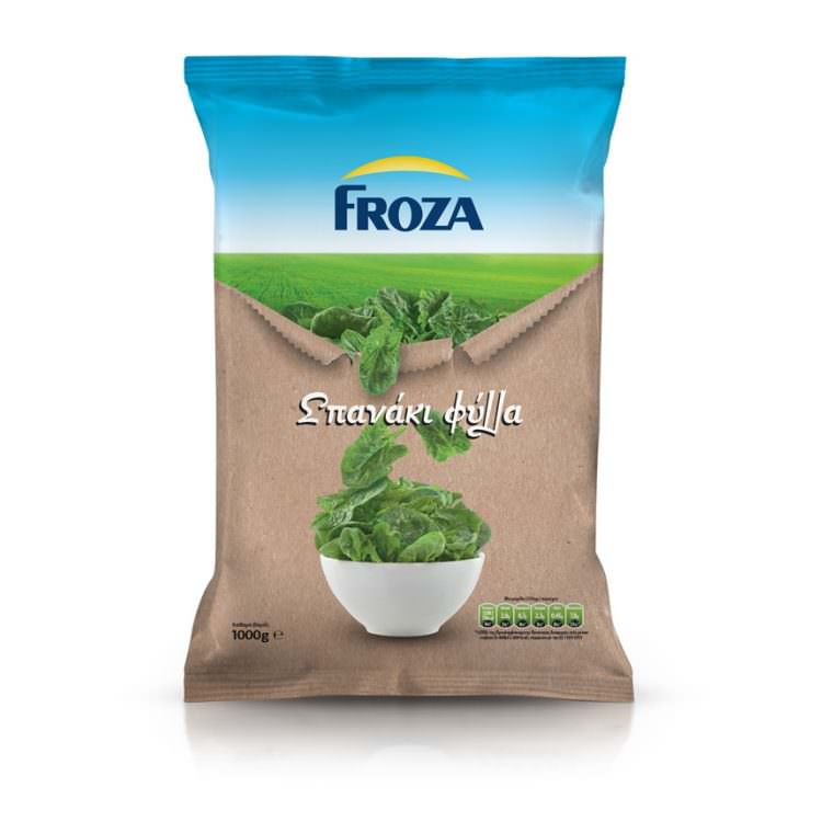 FROZA SPINACH LEAVES 1Kg