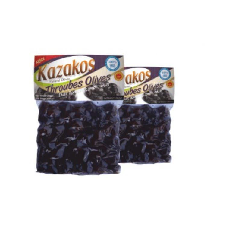 KAZAKOS THROUBES OLIVES 250g