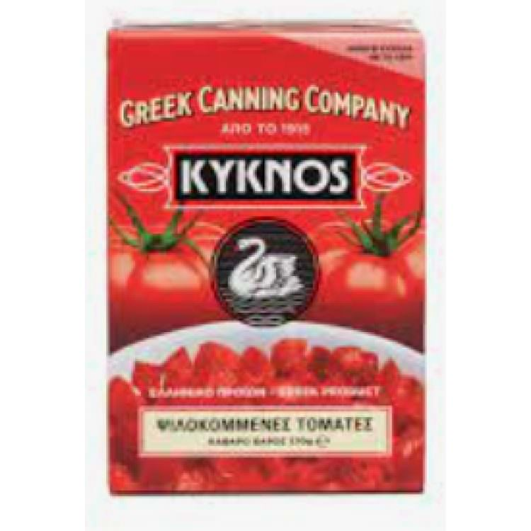 KYKNOS CHOPPED TOMATOES 370g