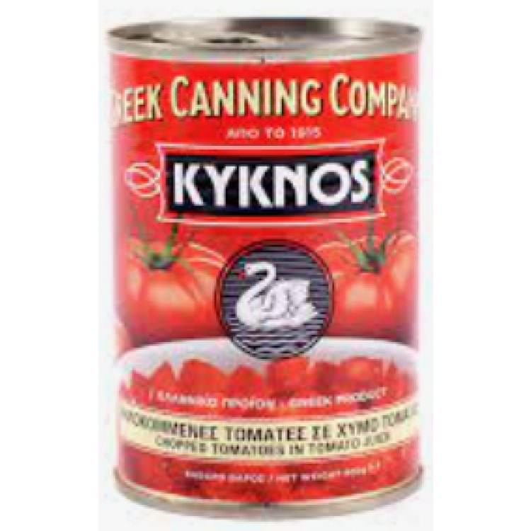 KYKNOS CHOPPED TOMATOES 400g