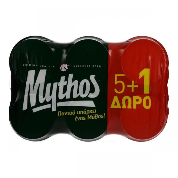 MYTHOS 5X330ml +1 FREE