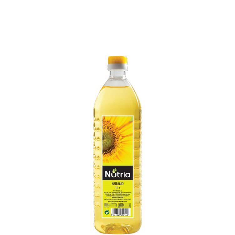 NUTRIA SUNFLOWER OIL PET 1L