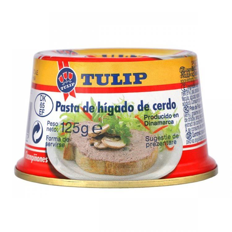TULIP LIVER PATE WITH MUSHROOMS 125g