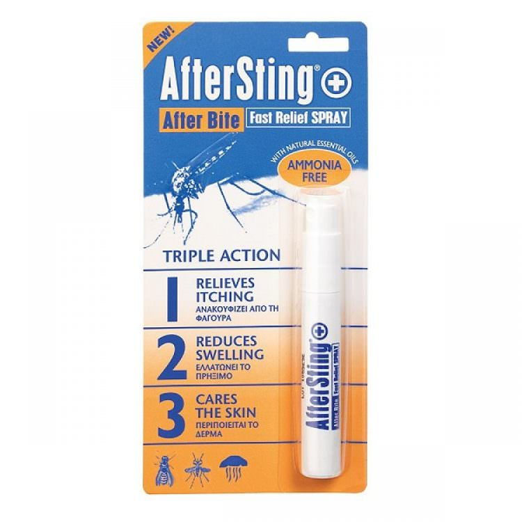 AFTER BITE FAST RELIEF SPRAY ( AMMONIA FREE) 10ml