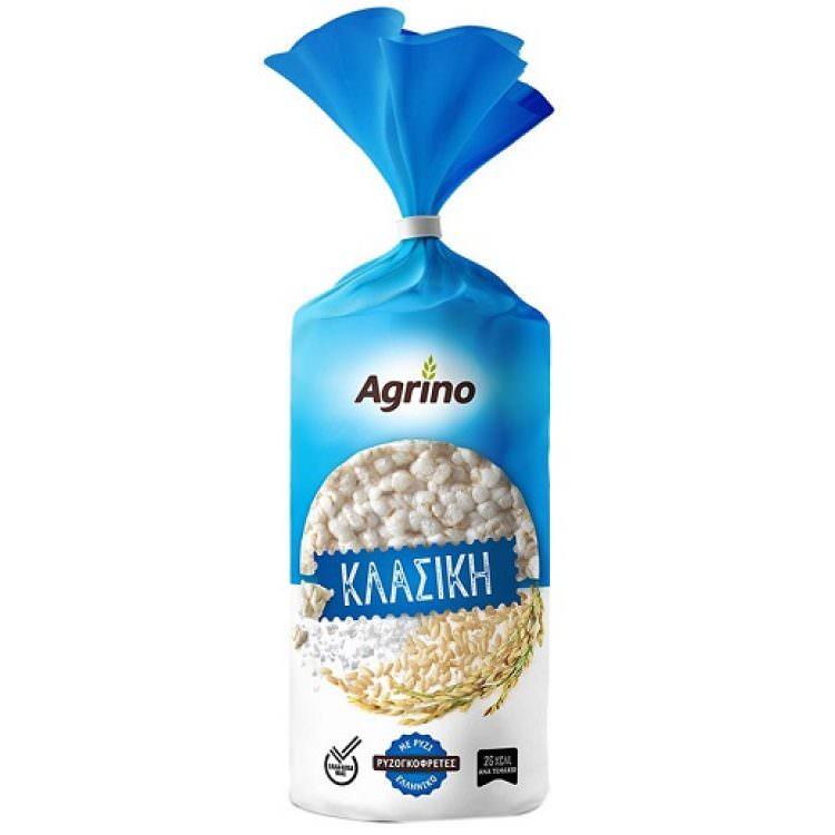 AGRINO RICE CAKES CLASSIC GLUTEN FREE 120g