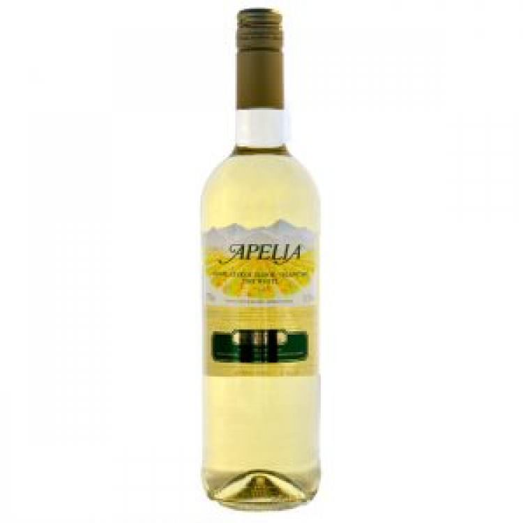 APELIA WHITE MEDIUM-SWEET WINE 0,75L