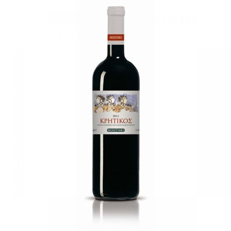 BOUTARI KRITIKOS RED DRY WINE 0,75L
