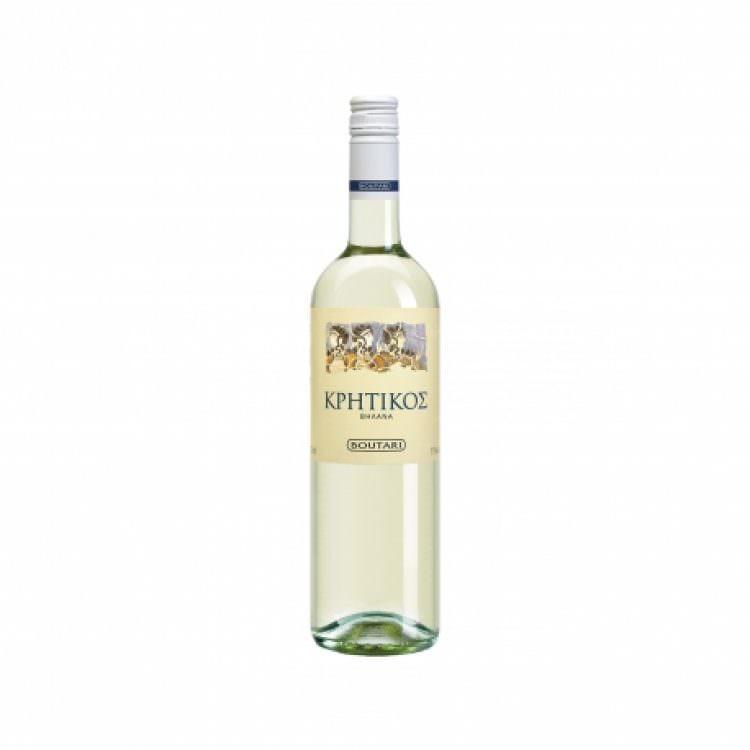 BOUTARI KRITIKOS WHITE DRY WINE 0,75L