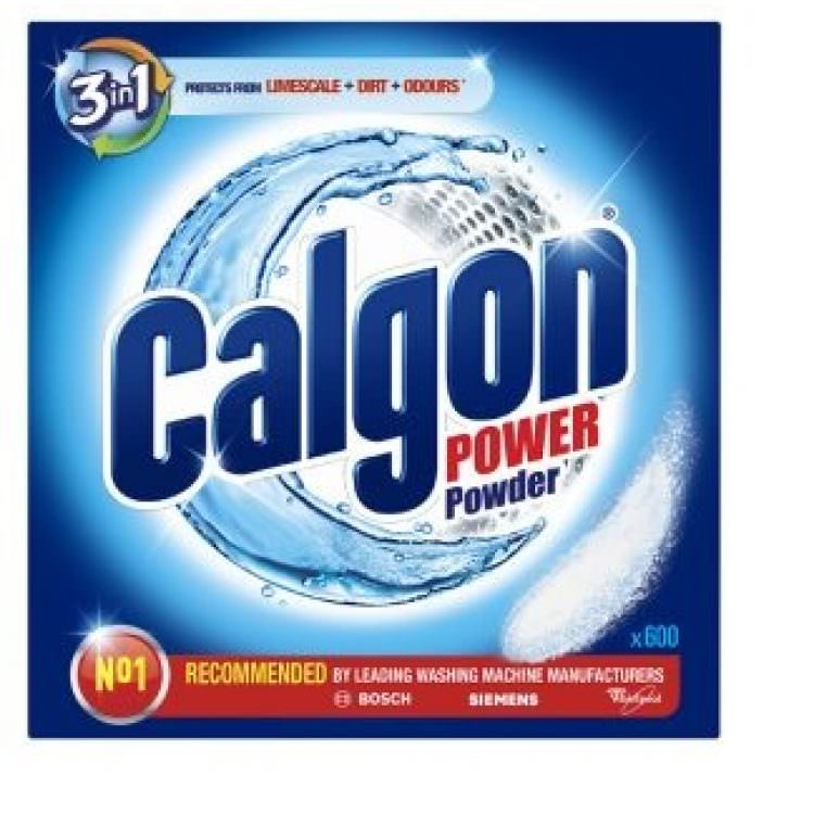 CALGON POWER POWDER 2 IN 1 LAUNDRY MACHINE CLEANING 500G