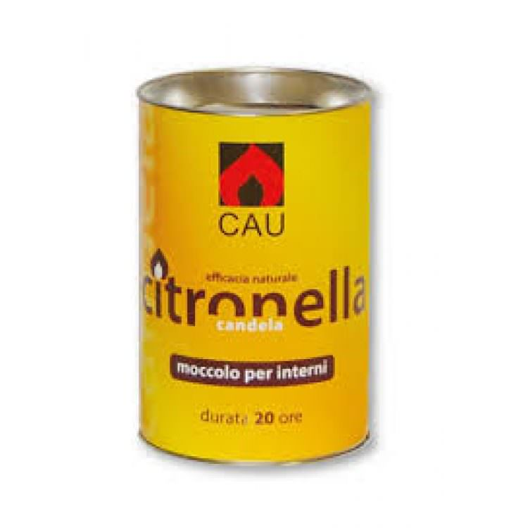 CAU CITRONELLA CANDLE (20h DURATION)