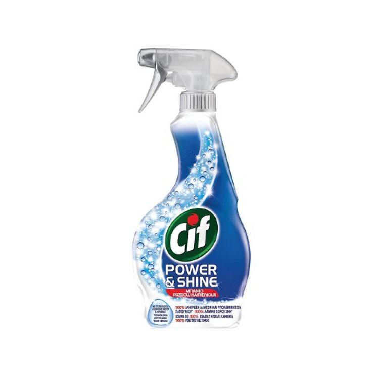 CIF SPRAY POWER & SHINE BATHROOM CLEANSER 500ml