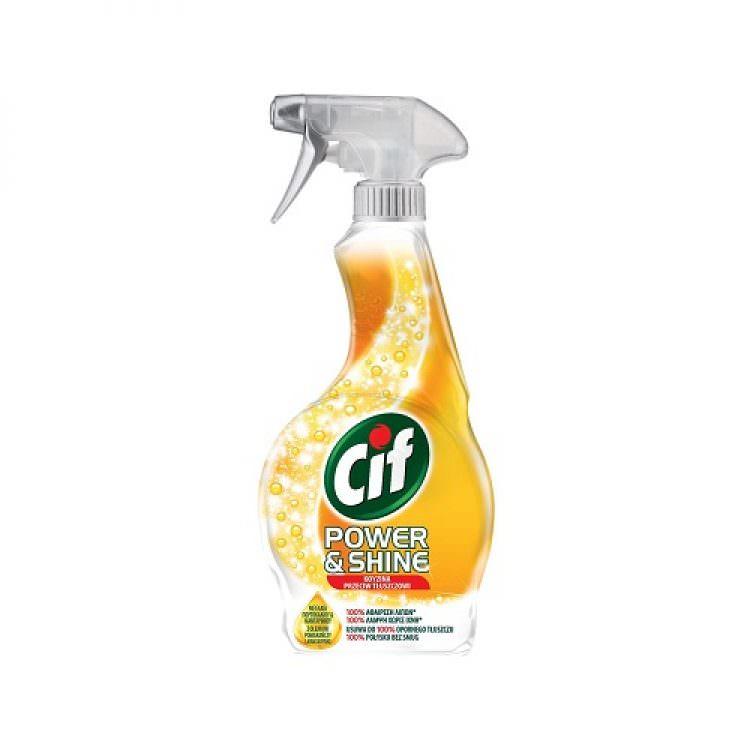CIF SPRAY POWER & SHINE KITCHEN CLEANSER 500ml