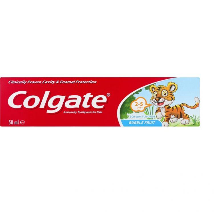 COLGATE TOOTHPASTE BUBBLE FRUIT 50ml