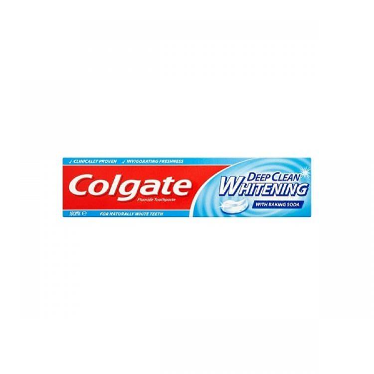 COLGATE TOOTHPASTE DEEP CLEAN WHITENING 100ml
