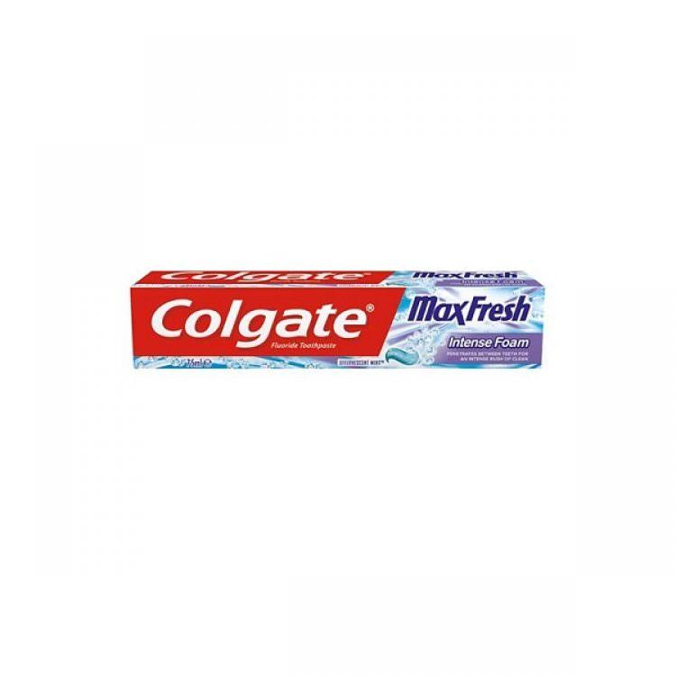 COLGATE TOOTHPASTE MAX FRESH INTENSE FOAM 75ml