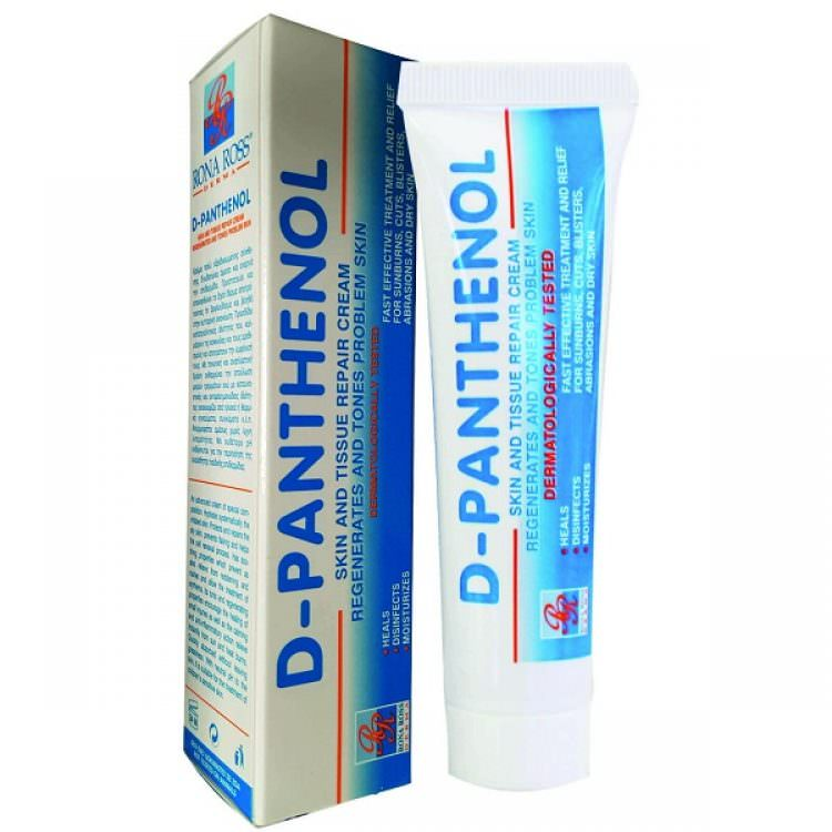 D-PANTHENOL SKIN & TISSUE REPAIR CREAM 30ml