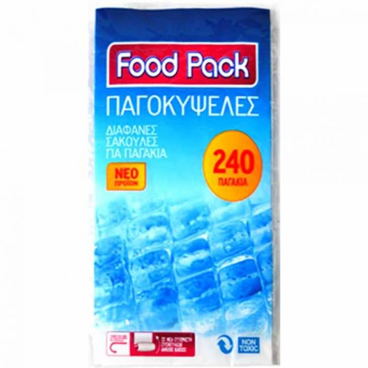FREEZER PACK BAGS (240 ICE CUBES)