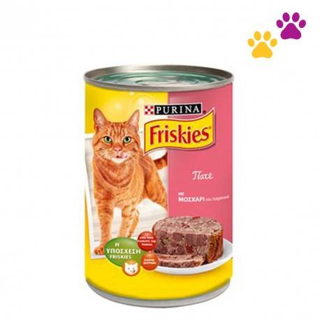 FRISKIES CAT FOOD PATE BEEF&VEGGIES 400g