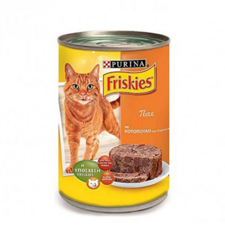FRISKIES CAT FOOD PATE CHICKEN &VEGGIES 400g