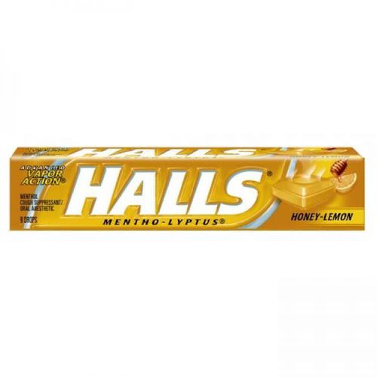 HALLS CANDIE HONE Y& LEMON 32g