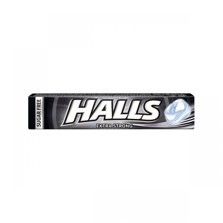 HALLS CANDIES EXTRA STRONG 32g