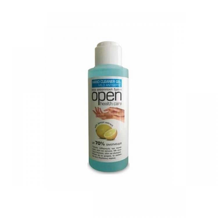 HEALTH CARE OPEN HAND CLEANER GEL MILD ANTISEPTIC 110ml