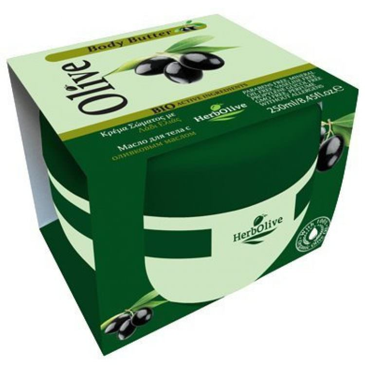 HERBOLIVE BODY BUTTER OLIVE OIL 250ml