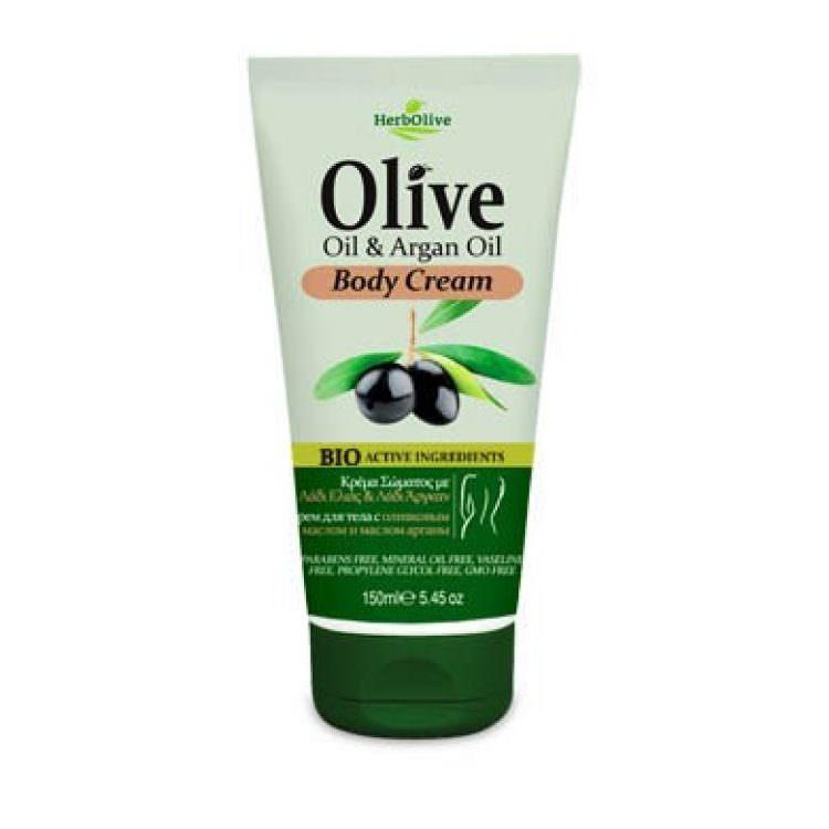 HERBOLIVE BODY CREAM OLIVE & ARGAN OIL 150ml