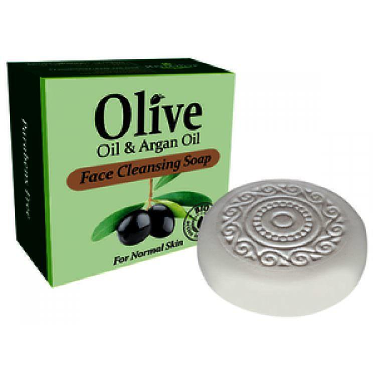 HERBOLIVE FACE CLEANSING SOAP OLIVE & ARGAN OIL (NORMAL SKIN) 90g