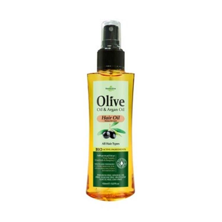 HERBOLIVE HAIR OLIVE OIL & ARGAN OIL 150ml