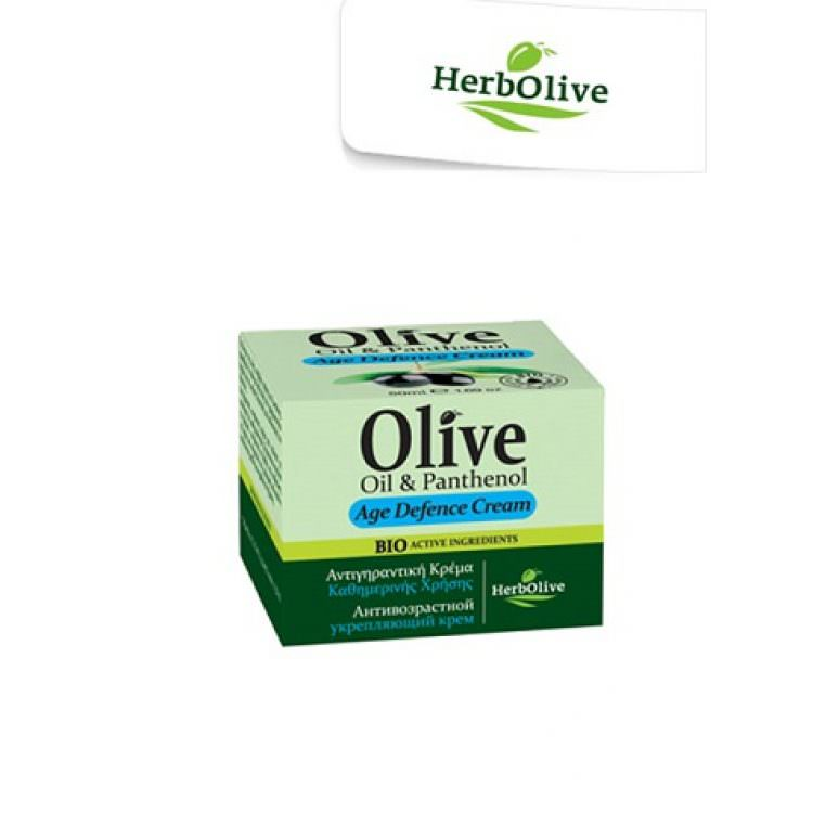 HERBOLIVE OIL&PANTHENOL AGE DEFENCE CREAM 50ml