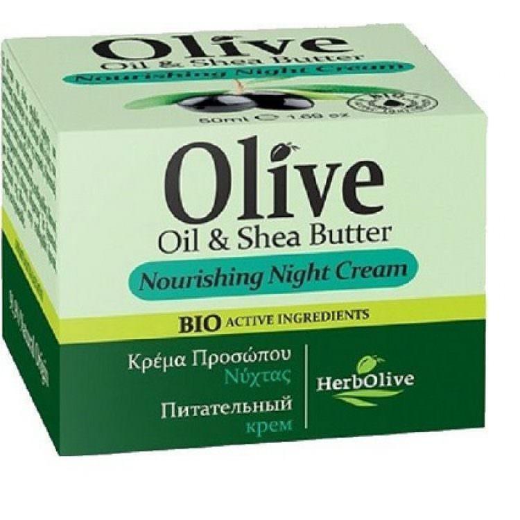 HERBOLIVE OIL&SHEA BUTTER NIGHT CREAM 50ml