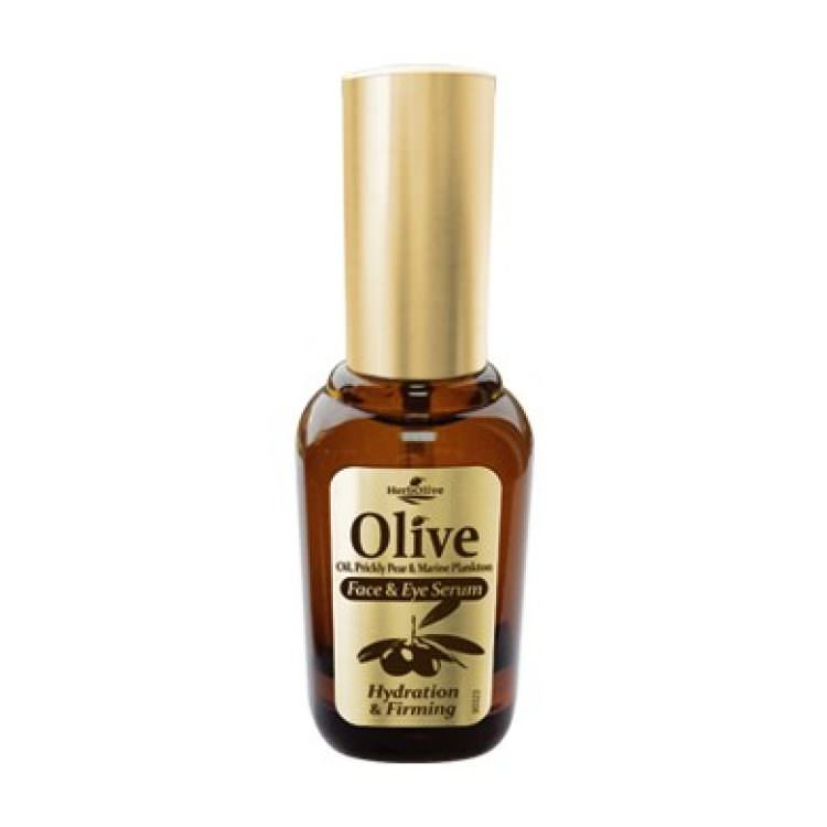 HERBOLIVE OLIVE FACE & EYE SERUM (HYDRATION & FIRMING) 30ml