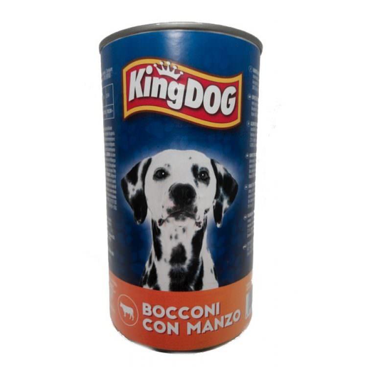 KINGDOG DOG FOOD BEEF MORSELS 12320g