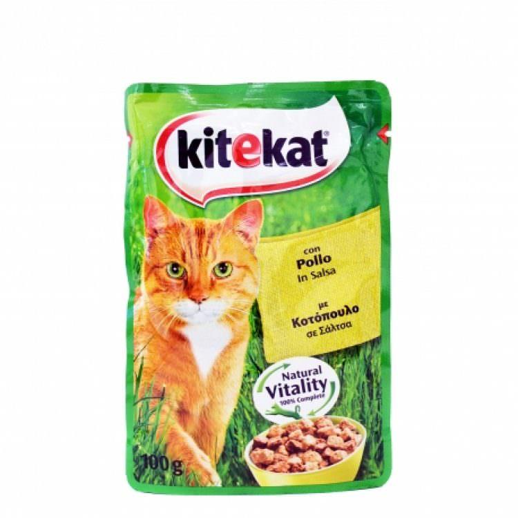 KITEKAT CAT FOOD CHCKEN IN SAUCE 100g