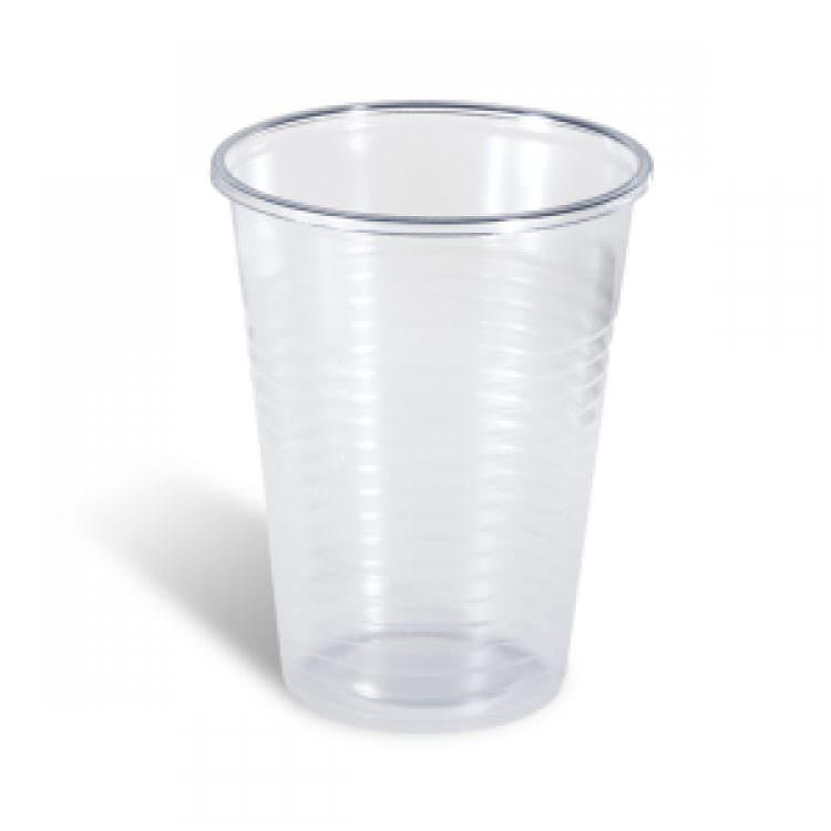LARIPLAST TRANSPARENT CUPS 250ml (50pcs)