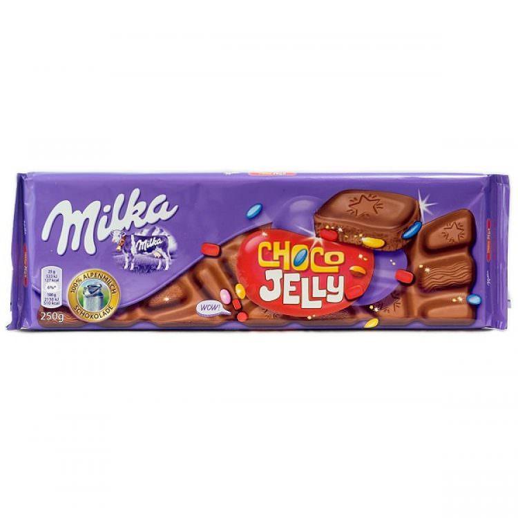 MILKA CHOCO & JELLY 250g