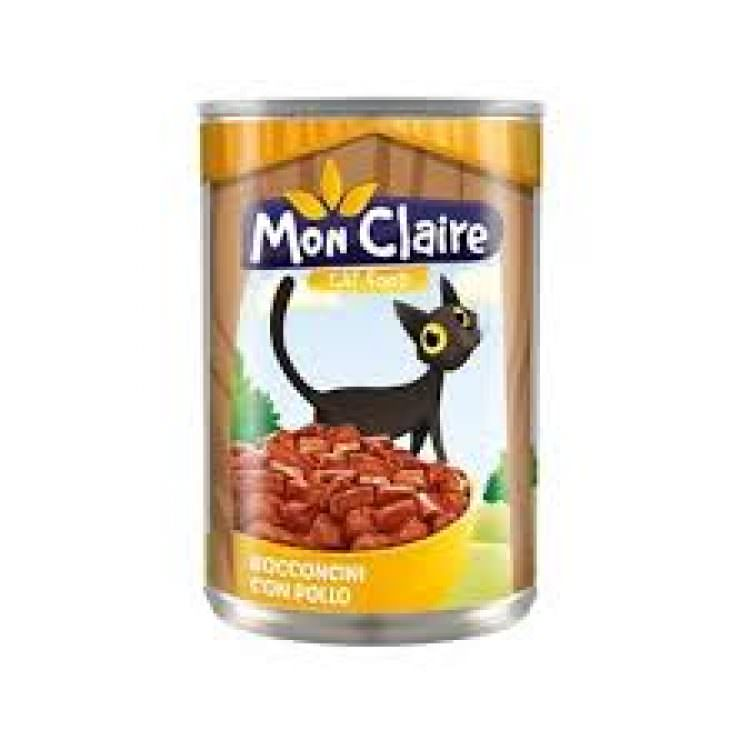 MON CLAIRE CAT FOOD MORSELS WITH CHICK