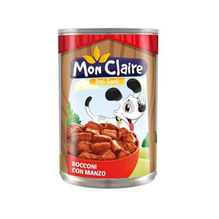 MON CLAIRE DOG FOOD MORSELS WITH LAMB