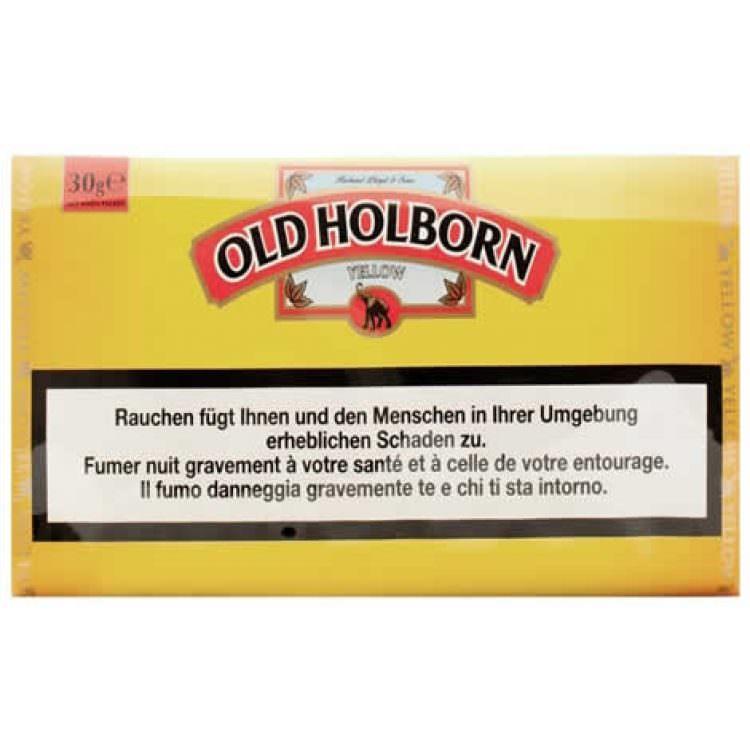 OLD HOLBORN YELLOW TOBACCO 30g