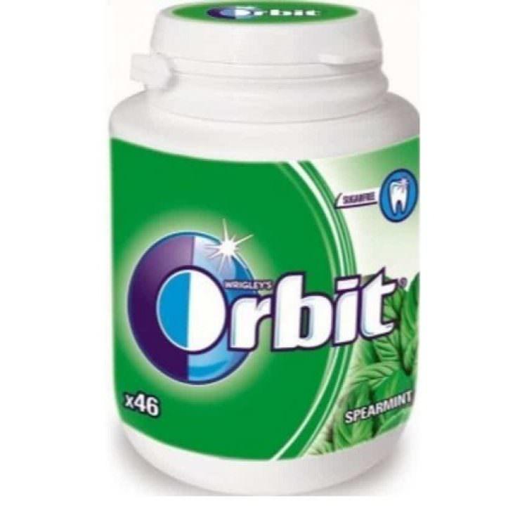 ORBIT BOTTLESPEARMINT 64g